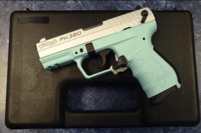 tiffany blue pistol - HD1214×803