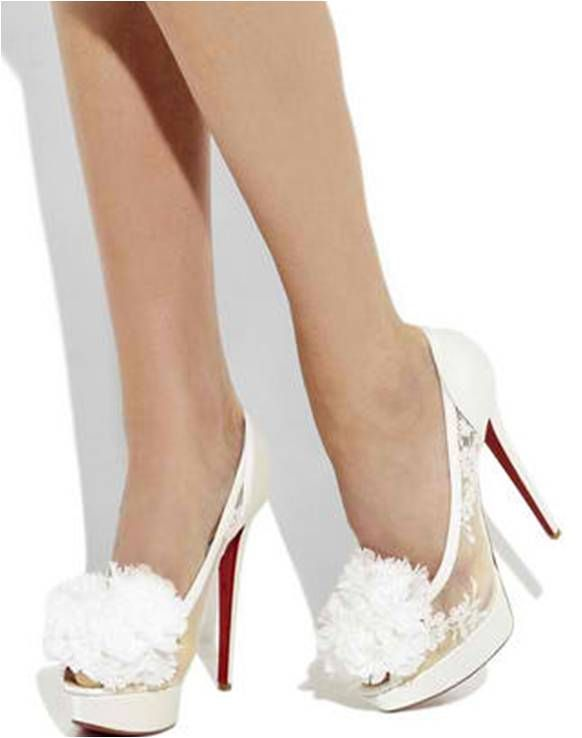 finest selection 7df7a 38fa5 Christian Louboutin Wedding Shoes | Chasing Rainbows Kissing ...