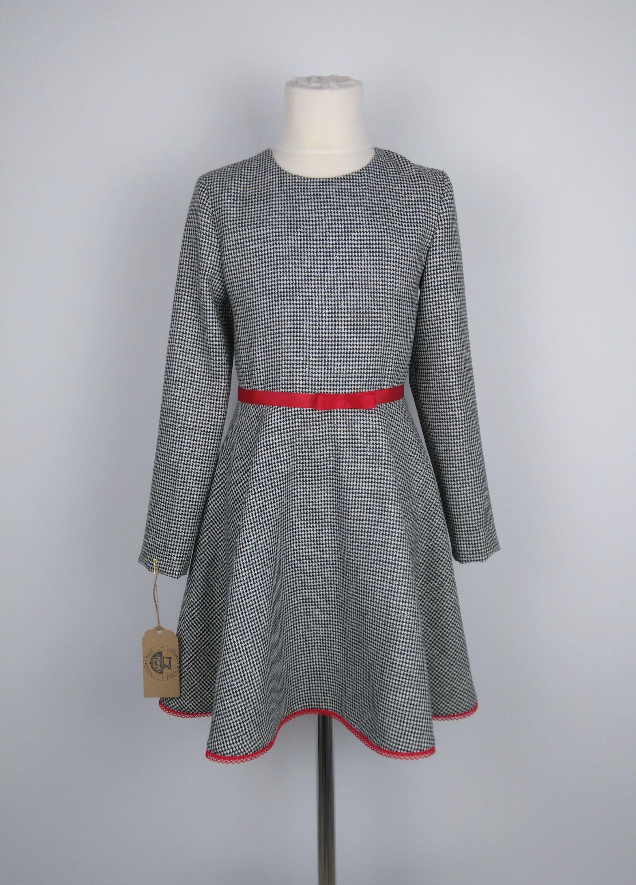 Handmade 12- teiliges Mädchenkleid Set Gr.12,Kleid für Mädchen