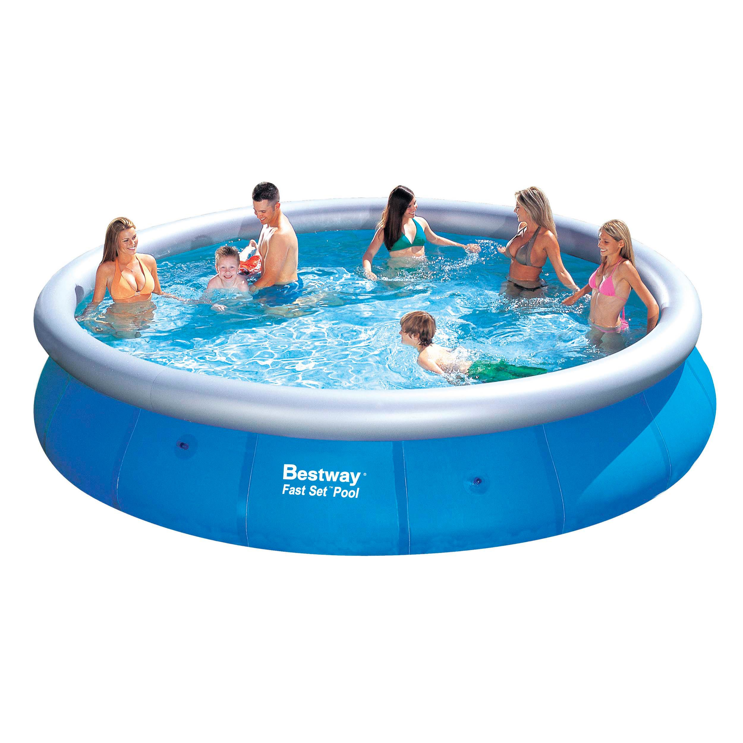 Quick Pool Abdeckplane This Bestway Fast Set Pool Is A Great Family Swimming Pool Because