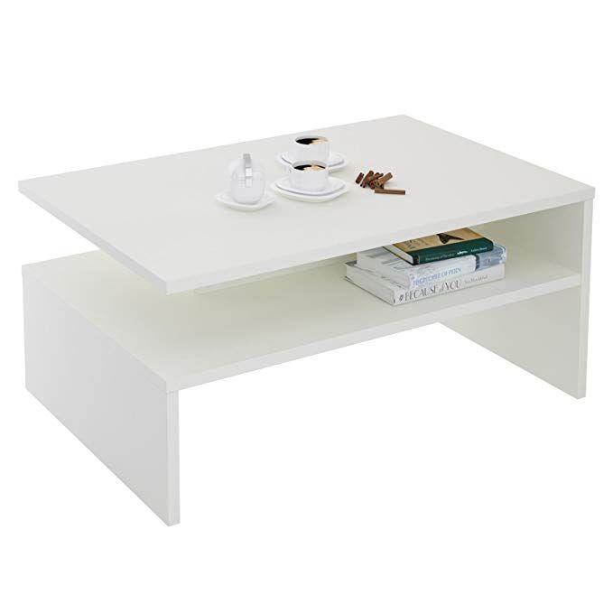 CARO-Möbel Couchtisch Wohnzimmertisch Paulina, 90x60 Cm In