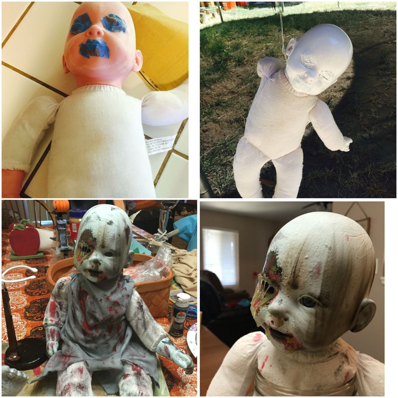 My Newest Creepy Baby Doll Makeover :)