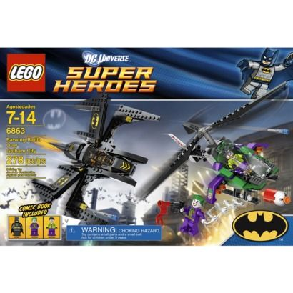 Matthew - LEGO Super Heroes Batwing Battle Over Gotham City 6863 Or ...