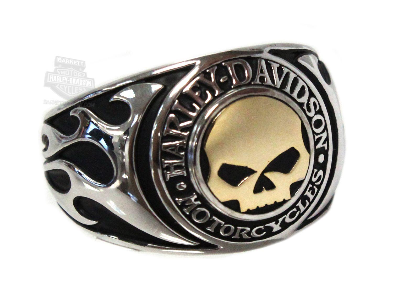 HarleyDavidson HMR0019 HarleyDavidson Mens 925 Silver