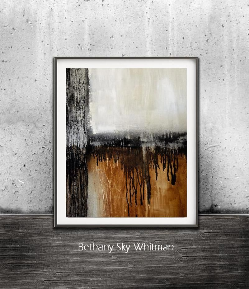 Digital Art Print Urban Raw Art Modern Contemporary Black Rust Wall Art Artwork Design Sky Whitman Modernhomedecor Digital Art Prints Printable Art Prints Art