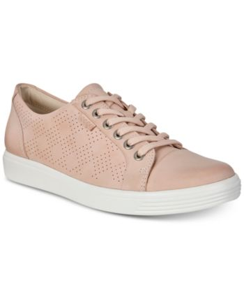 Ecco Women's Soft 7 Perforated Lace-Up