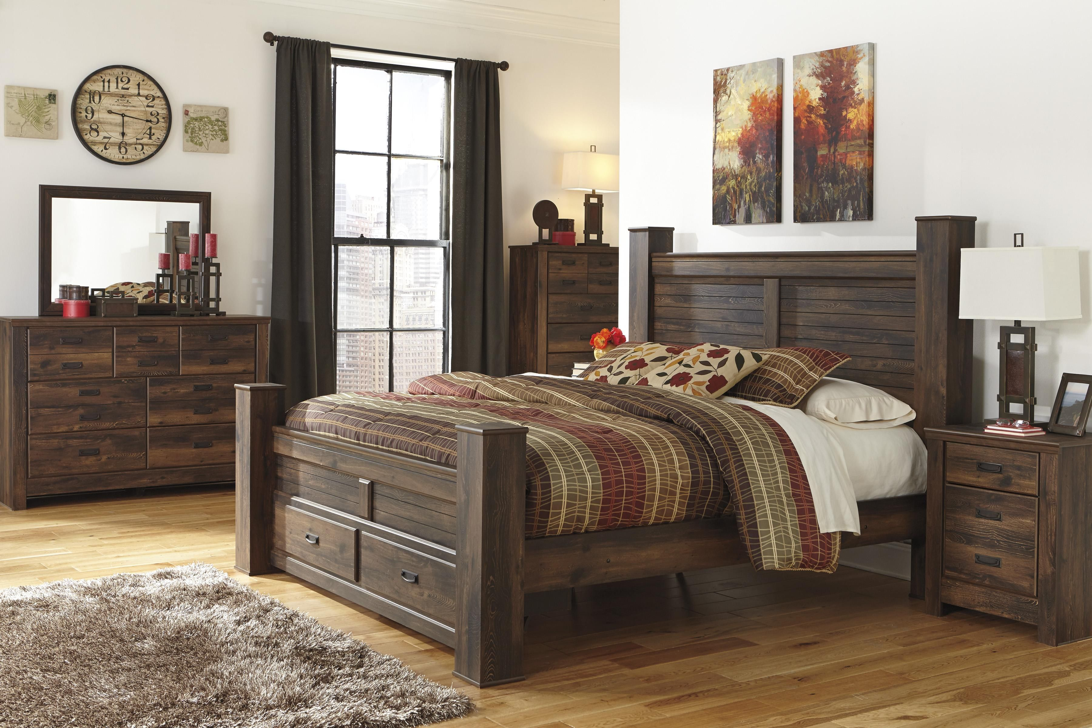 Signature Design By Ashley Quinden King Bedroom Group Beck S Furniture Bedroom Group