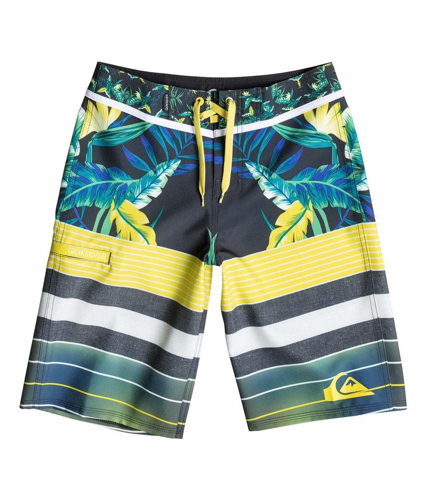 3b6d27382e Buy Quiksilver Boys YG Remix Stripe Swim Bottom Board Shorts at Walmart.com