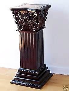Clay Pedestals Columns Yahoo Image Search Results Pedestal Pedestal Table Home Decor