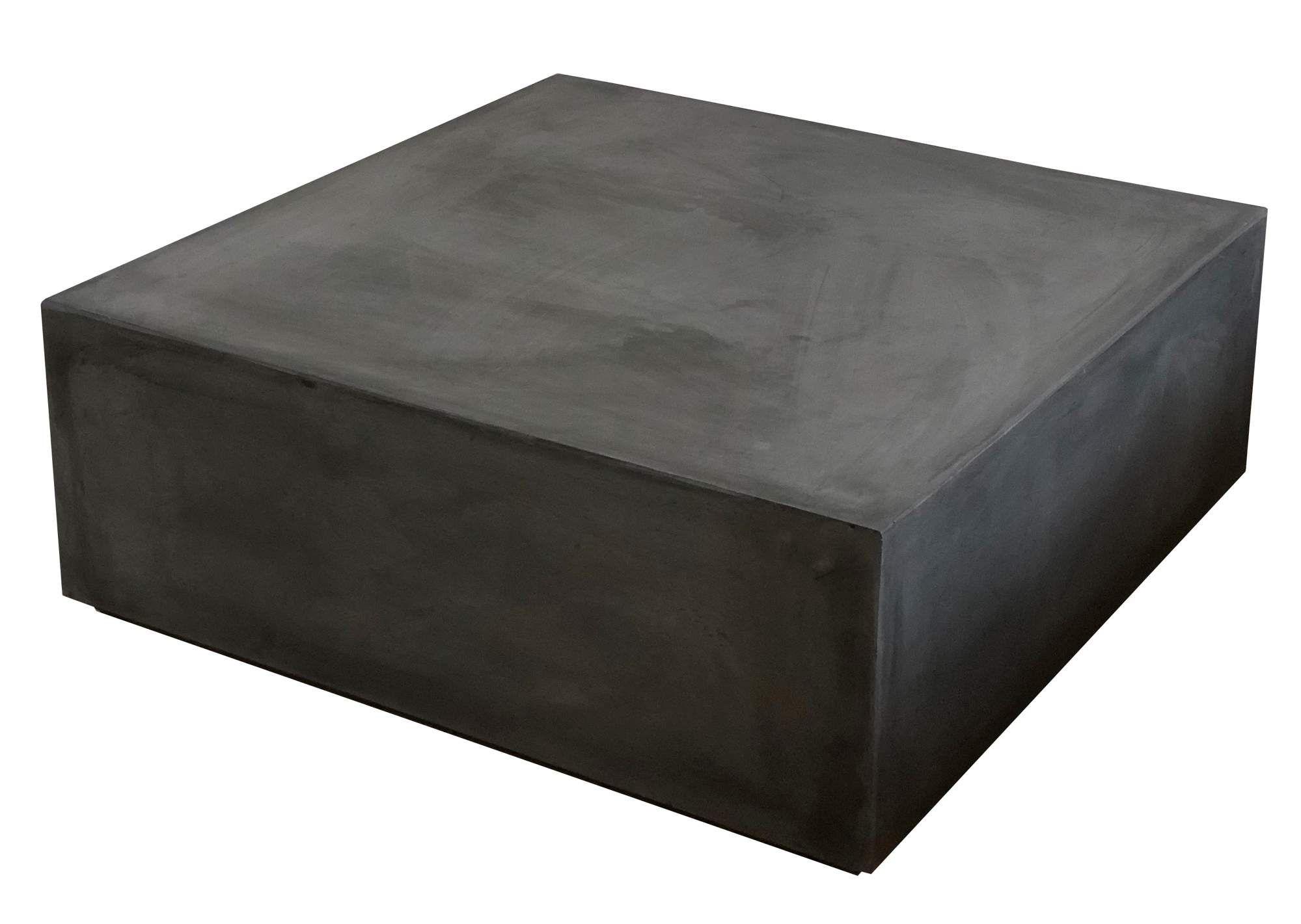 Beton Block Couchtisch Loungetisch Anthrazit In 2020 Lounge