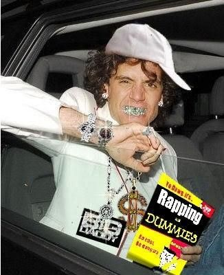 Fan made gangsta Mika photoshop LOL