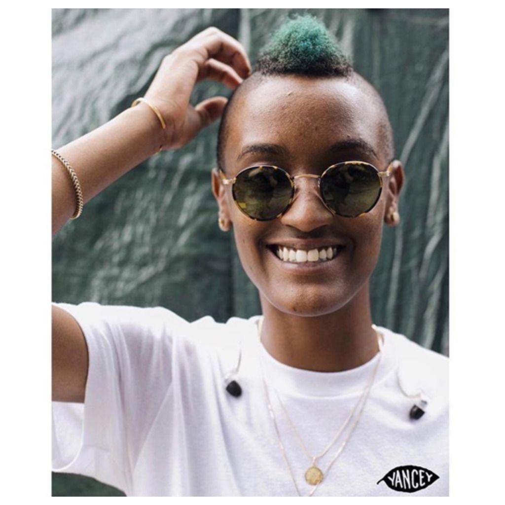 Thecutlife festival hair bold mohawk short naturals pinterest