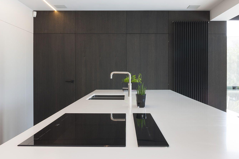 Fotografie voor ilb interieur van een modern keukenontwerp te