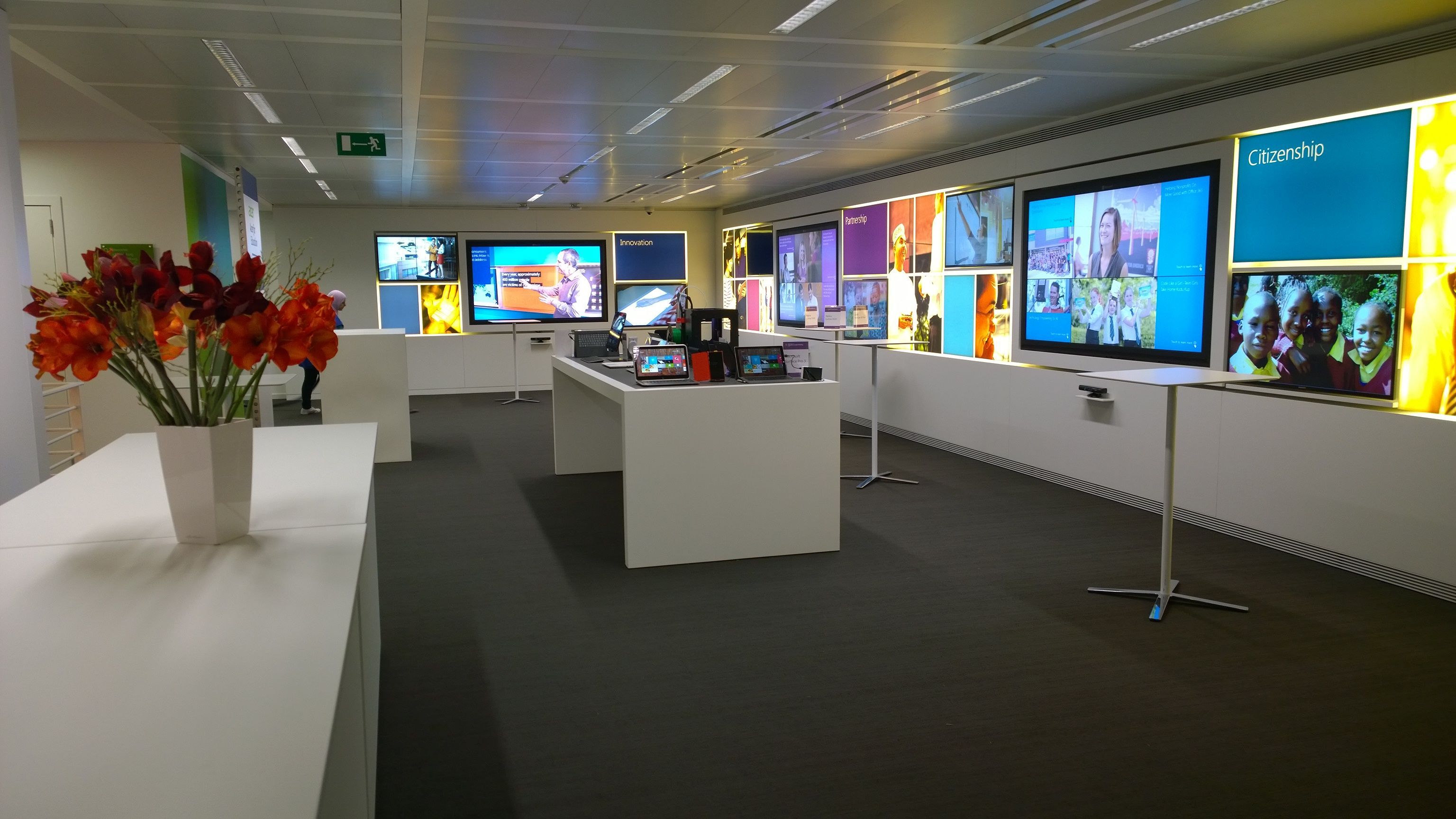 Microsoft Center opens in Brussels | Executive Briefing Centers ...