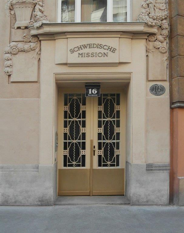 Dem Holocaust entronnen: Schwedische Hilfstätigkeit in Wien während der Hitlerzeit   Evangelische Akademie Wien