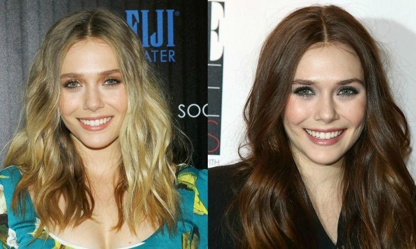 Blonde Vs Brunette Celebrity Hair Transformations Blonde Vs Brunette Hair Transformation Celebrity Hairstyles