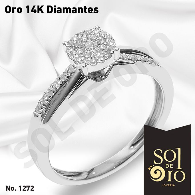Colector petrolero Farmacología  Oro 14k diamantes #anillosdecompromiso | Engagement rings, Jewelry,  Engagement