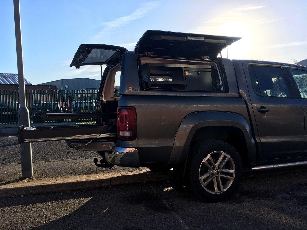 Volkswagen Amarok With Gearmate Gull Wing Hardtop