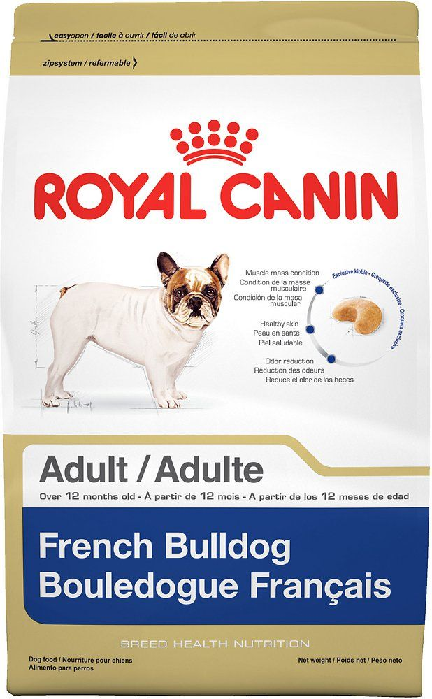 Royal Canin French Bulldog Adult Dry Dog Food 17 Lb Bag French