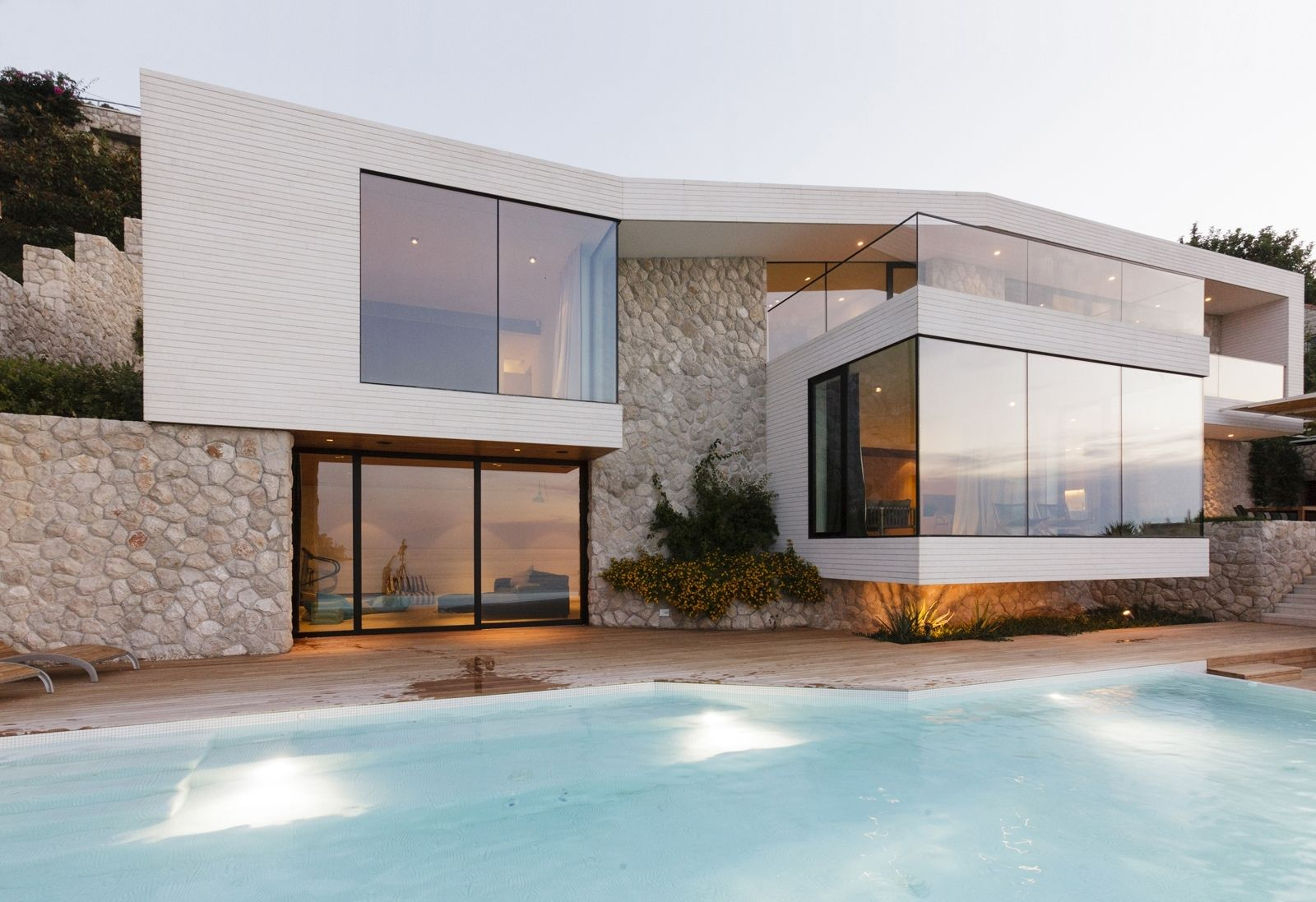Incredible Mediterranean Houses Modern House Designs Intended For