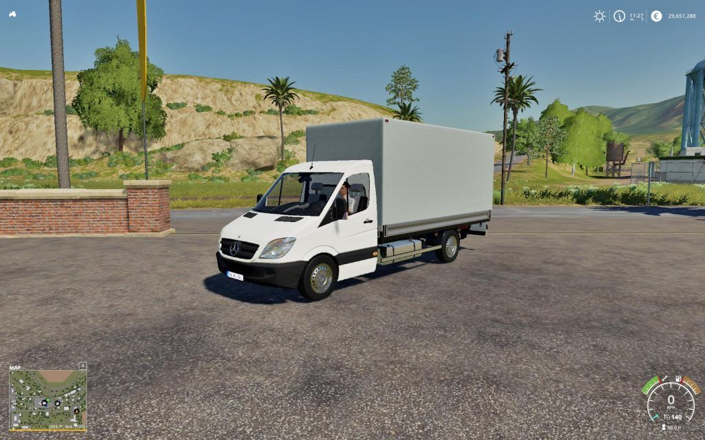 Mercedes Sprinter Pickup Fs19 V1 0 Fs19