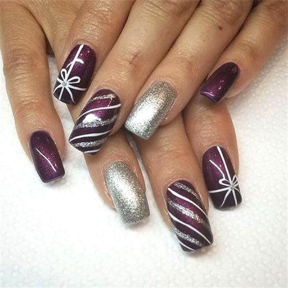 15 christmas present nail art designs  amp  ideas 2018 xmas