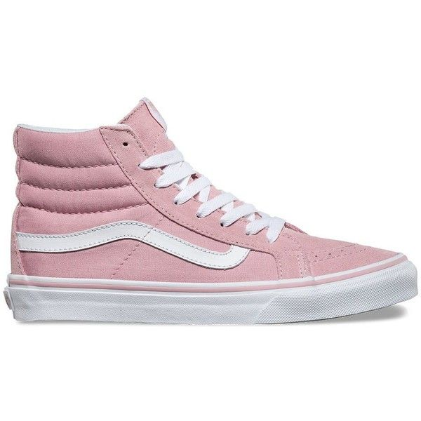 f013815fb Vans SK8-Hi Slim ( 65) ❤ liked on Polyvore featuring shoes ...