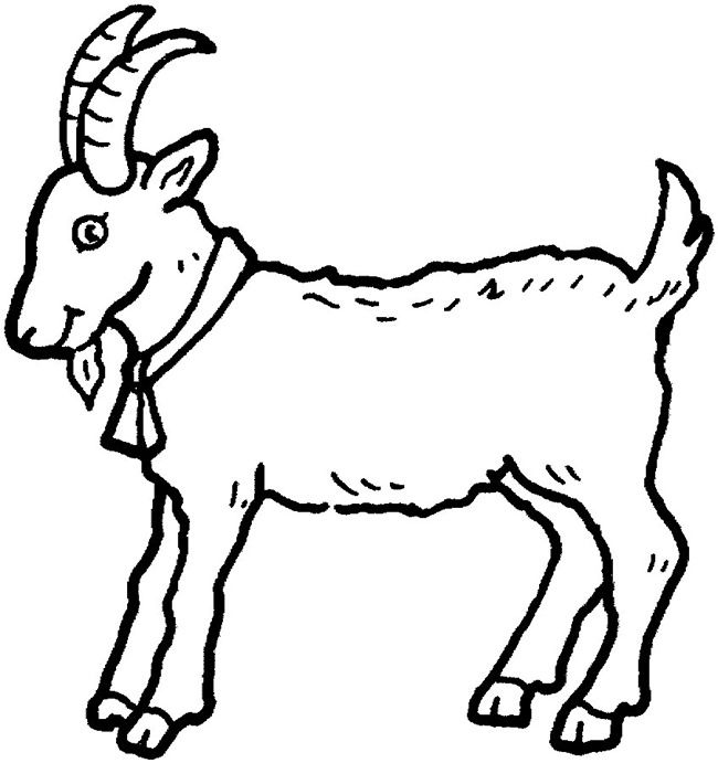 Download Hd Boer Goat Coloring Book Cute Colouring Anglo Nubian Colouring Images Of Goat Clipart And Use The Fr Boer Goats Coloring Books Fnaf Coloring Pages