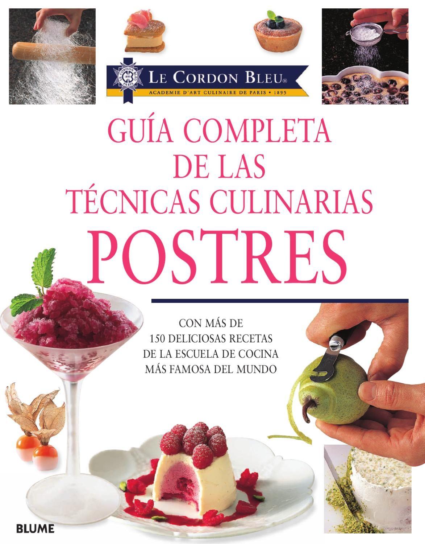 Guia completa de las tecnicas culinarias for Tecnicas culinarias pdf