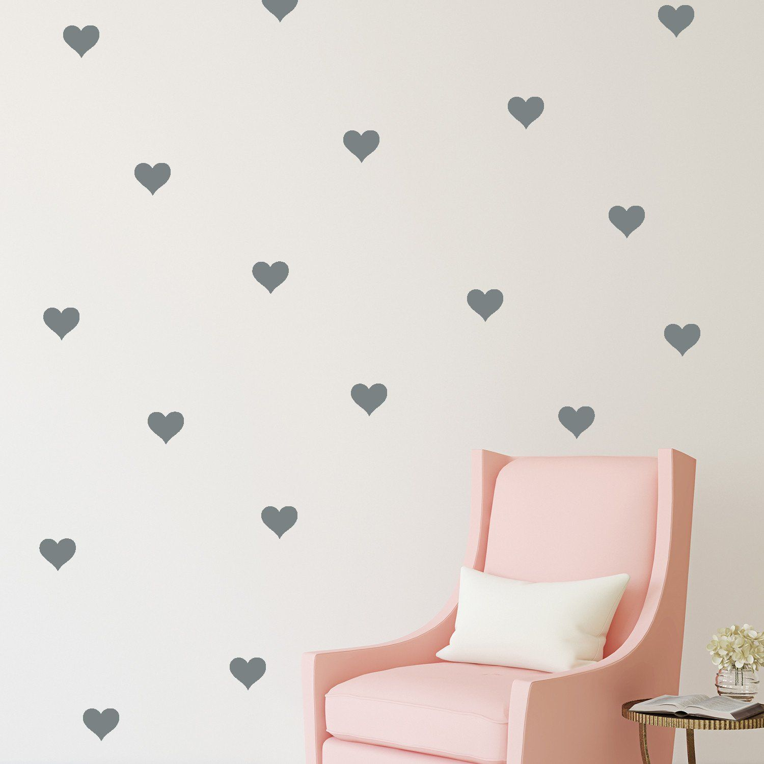 Mini Hearts // Wall Decal