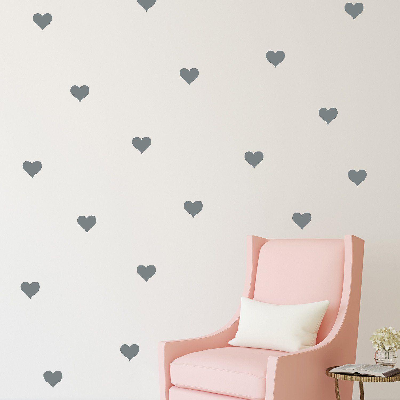 Mini Hearts // Wall Decal