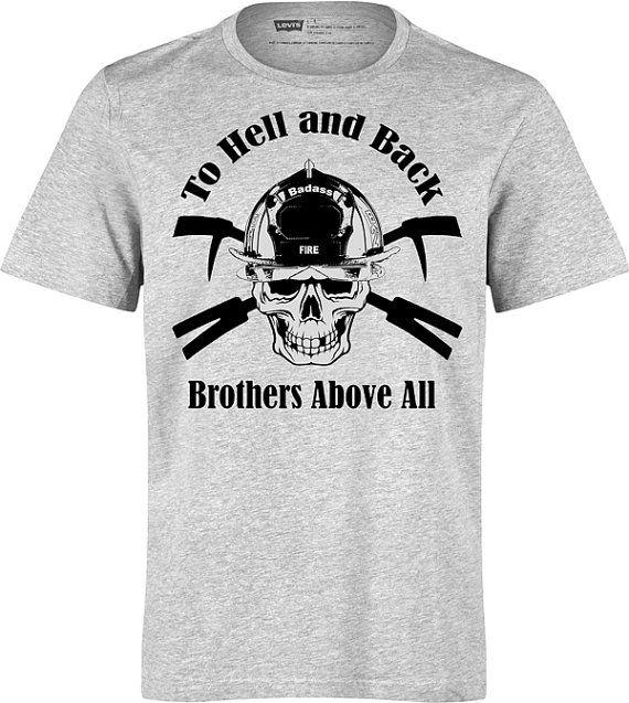 60fcb2f7af Firefighter T-Shirt,