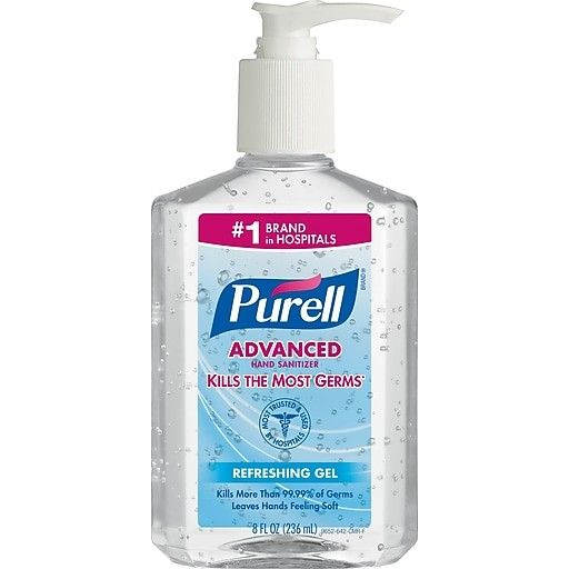 Save 1 50 2 Bottles Of Purell Advanced Hand Sanitizer Hand