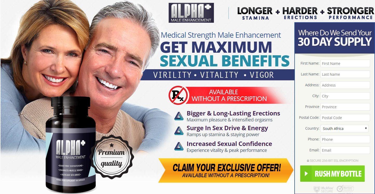 Alpha Plus Male Enhancement Likewise Straightforward Venture Alpha