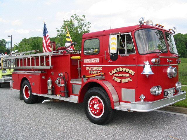 1960 Seagrave Pumper Vintage Fire Engines Trucks