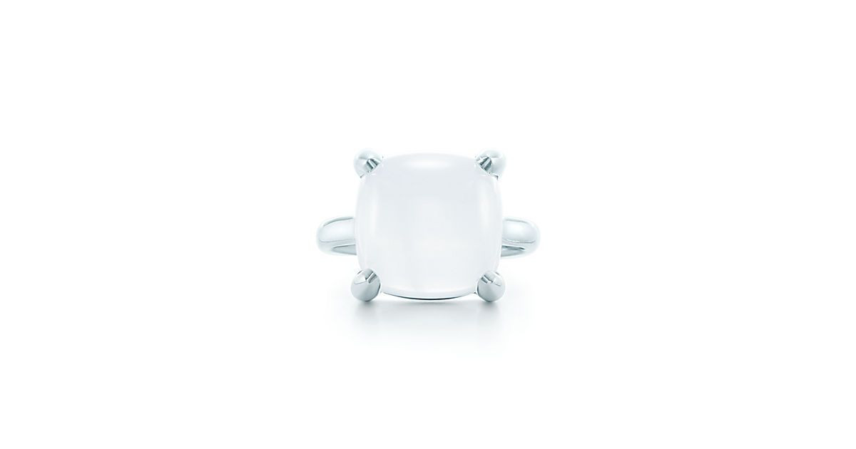 f7975ff58 Tiffany - Paloma's Sugar Stacks ring in sterling silver with a milky quartz.