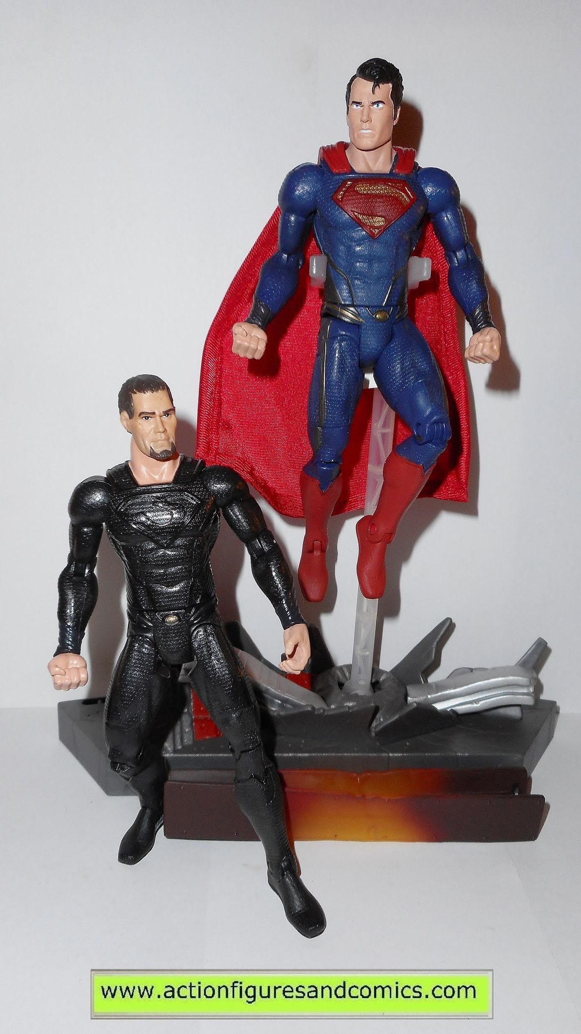 DC Movie Masters General Zod Man of Steel