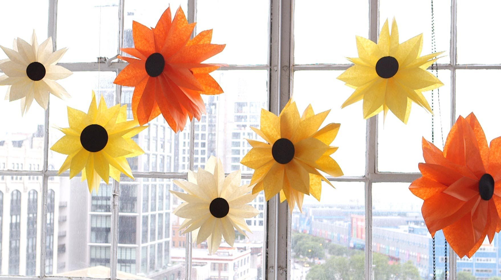 Think Making Those Adorable Hanging Paper Flowers Is Above Your