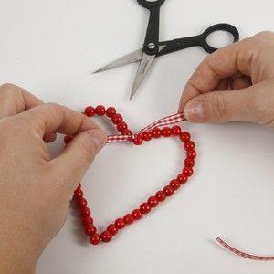 Søde hjertekranse  DIY vejledning