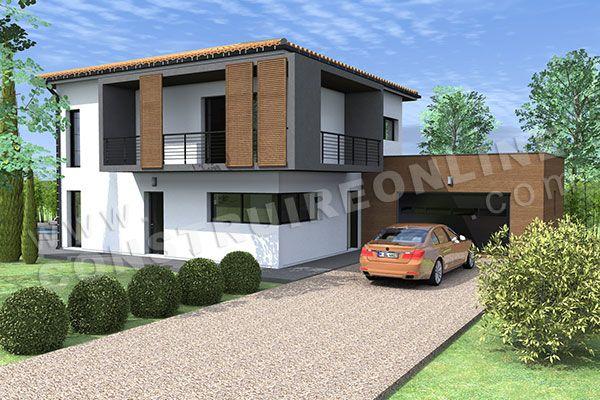 maison moderne etage (6) | maison aimé | Pinterest | Models