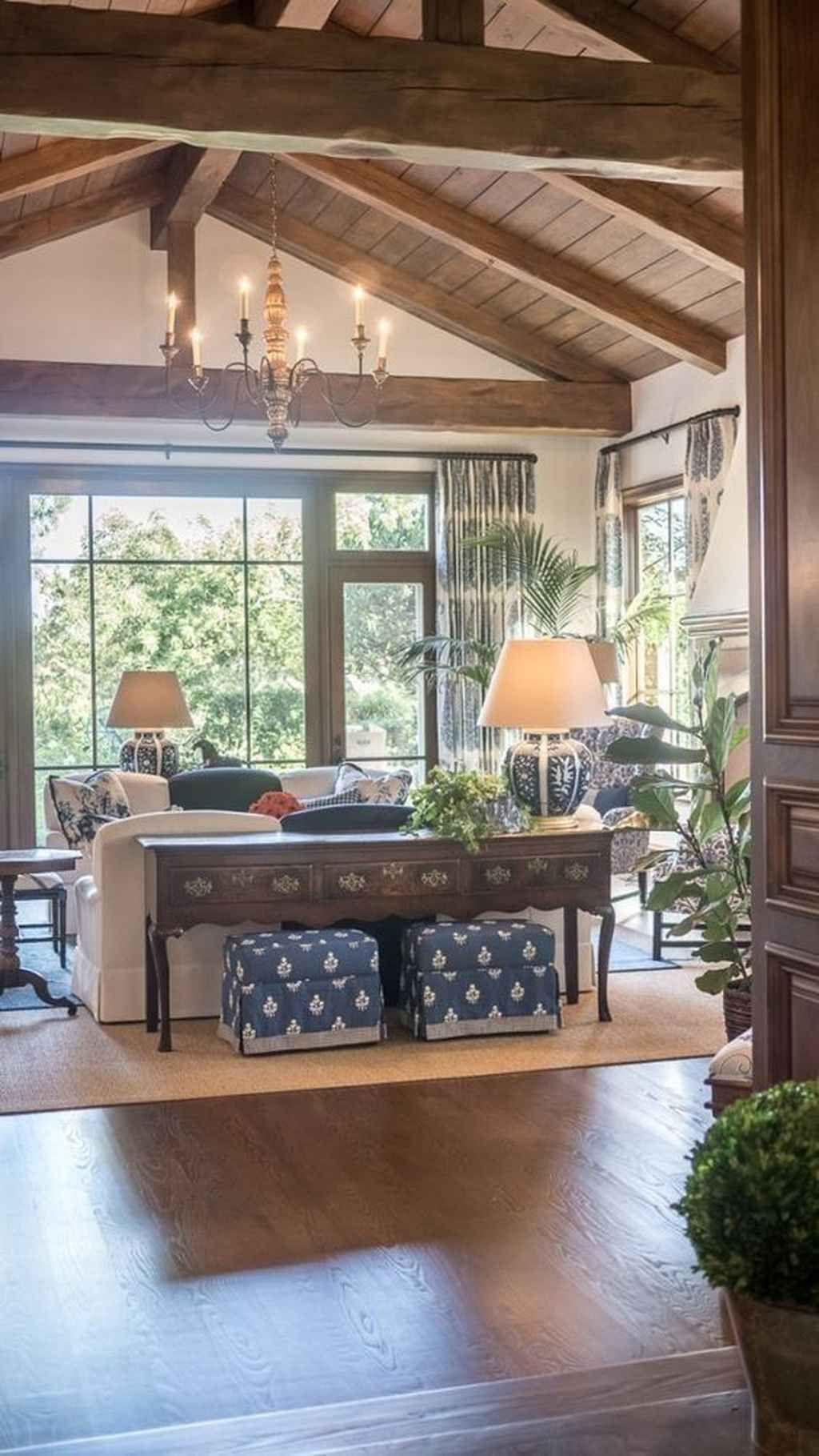 85 Beautiful Farmhouse Living Room Curtains Decor Ideas in ...