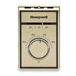 Honeywell T651a3018 Line Voltage Heat Cool Thermostat 44 86f Fan