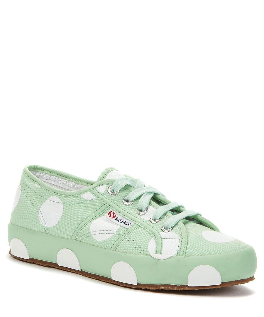 b58662d3204e Superga Spotted trainers in mint
