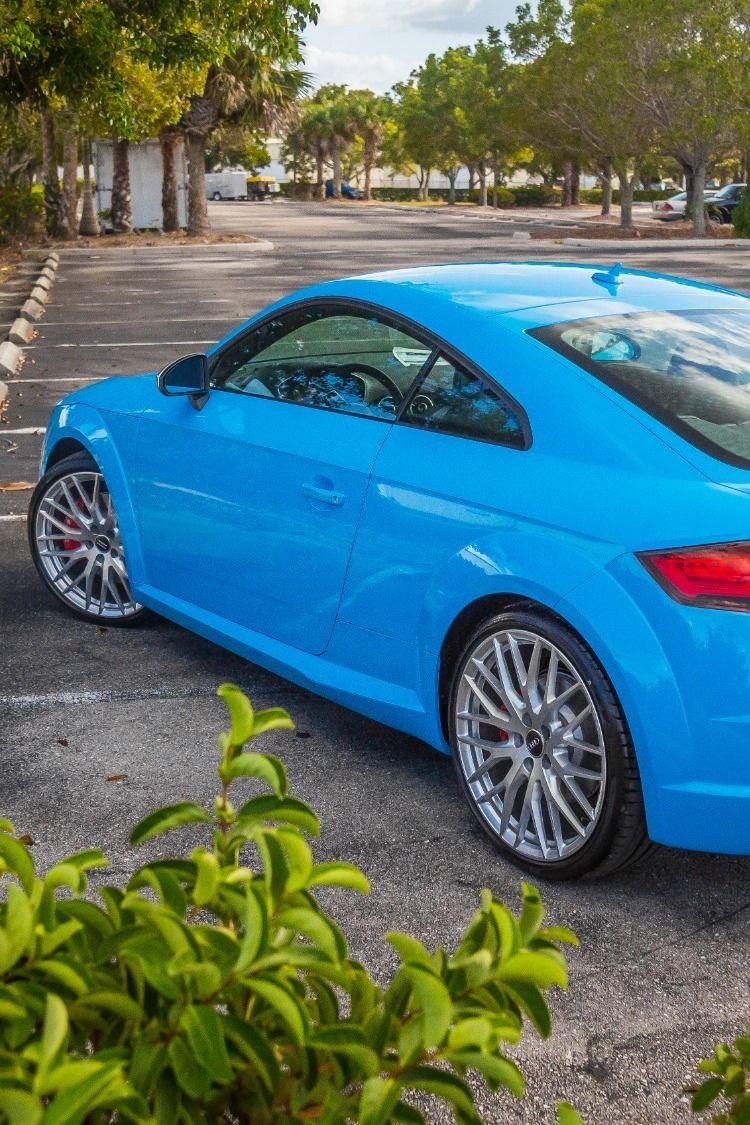 TTS Riviera Blue Used audi, Audi dealership, Riviera blue