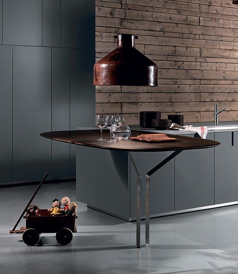 Hd23 Kitchen By Rossanacucine Design Massimo Castagna Cozinha Aberta Cozinhas Cozinha Kitchens
