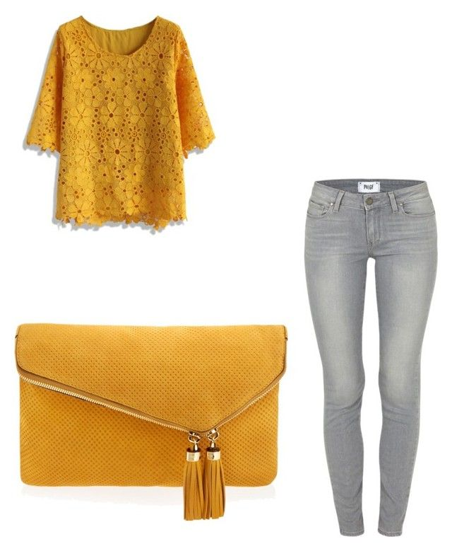 """""""Untitled #3302"""" by ohnadine on Polyvore featuring Paige Denim, Chicwish, Henri Bendel, women's clothing, women, female, woman, misses and juniors"""