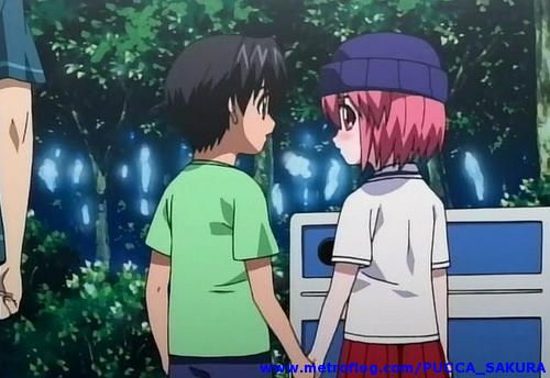 Lucy And Kouta From Elfen Lied Would Like To Make Lucys Hat Anime