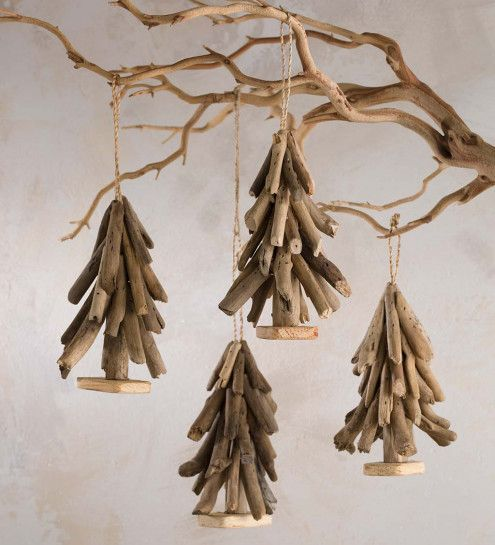 Driftwood Tree Ornament Set of 4 | Style | Home Décor | VivaTerra