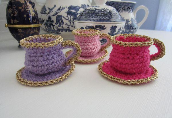 Exelent Crochet Teacup Pattern Free Festooning Knitting Pattern