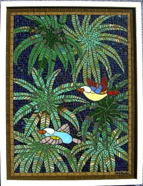 Gl Mosaic Tile Art Gallery Of William J Enslen Jr